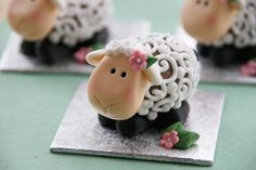 Adorable Easter Lambs (chocolate creme eggs)
