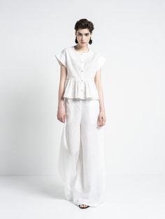IOANNA KOURBELA SHIRT COTTON DIAGRAM 20260-12051 Unity, Cloud, Greece, Diagram, Normcore, Sleep, Chic, Cotton, How To Wear