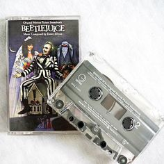 Beetlejuice Cassette Soundtrack on Disco Witch Vintage