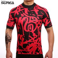 SUREA 2017 New Cycling Jersey Mtb Breathable Bicycle Clothing Bike Wear Clothes Short Sleeve Ropa Ciclismo Maillot Breathable