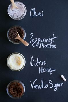 4 Homemade Holiday Scrub Recipes for Gift Giving