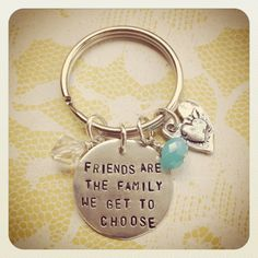 friends are family we choose plaque | Friends Are The Family We Get To Choose Heart Keychain Sterling Silver ...