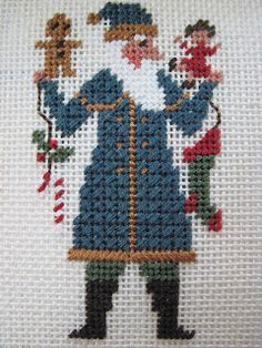 Threads Through Time: PRAIRIE SCHOOLER SANTAS, MSI SAMPLER 1771, CARRIAGE HOUSE NAME PLATE, MYSTERY SAMPLER, PHOTOGRAPHING YOUR NEEDLEWORK
