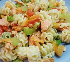 Weight Watchers Salmon Pasta Salad recipe – 6 points