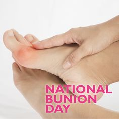#NationalBunionDay is here! Proud sponsors of NBD, we strive to raise awareness of bunions & encourage people to visit their podiatrist! Whatever their size or severity, let's remove the stigma! With a leading panel of foot experts including Dr Dawn Harper, the website offers practical information, support & advice for bunion sufferers!