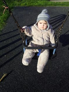 Ry's first swing