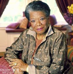 Maya Angelou *Phenominal Woman -- Every woman should read this poem!