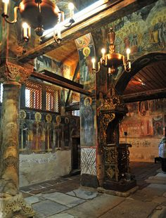 South and west walls, St. Stephen's Church, Nessebar, Bulgaria