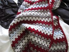 Ravelry: thomp42's sock monkey granny stripes