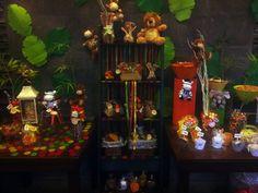 Mesa de dulces Baby Shower, tema: Rainforest