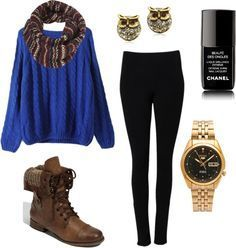 cute teen outfits for fall-winter school 2014 05 #outfit #style #fashion