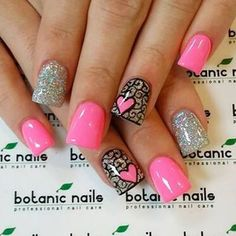 Best Valentine& Day Nail Art Designs - 34 Mind-Blowing Designs Who is getting excited for Valentine's Day? Valentine's Day is such a romantic event and having your nails prepped accordingly is a must. Cute Nail Art, Nail Art Diy, Diy Nails, Orange Nail Designs, Gel Nail Designs, Nails Design, Do It Yourself Nails, Botanic Nails, Valentine Nail Art
