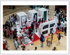 Diet Coke's recent Westfield activation shows how photobooths can be used to share the experience and increase reach across social media