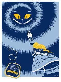 """ ― Lewis Carroll, Alice Adventures in Wonderland Lewis Carroll, Alicia Wonderland, Adventures In Wonderland, Illustrations, Illustration Art, Gato Alice, Inspiration Artistique, Chesire Cat, Alice Madness"
