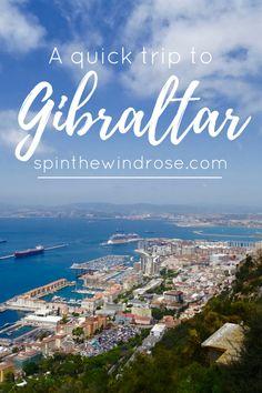 How to spend a coulple of days in Gibraltar - spinthewindrose.com @michaelOXOXO @JonXOXOXO @emmaruthXOXO  #MAGICALGIBRALTAR