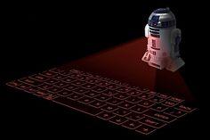 Ein neues Star Wars Gadget: Das virtuelle R2-D2-Keyboard | KlonBlog