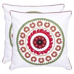 Safavieh Medallion Toss Pillow