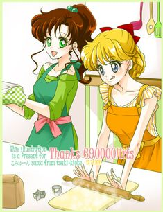 Mina y Lita Sailor Jupiter, Sailor Moon Meme, Sailor Moon Manga, Sailor Moon Girls, Sailor Moon Fan Art, Sailor Moon Crystal, Sailor Venus, Chibi, Sailer Moon