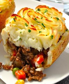 Shepherd's Pie Potato Skins - Recipe, Main Dish, Meal Ideas, Side Dish, Delicious and Easy