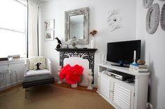 Декор, Мебель и предметы интерьера, Спальня, Декор, эклектика, Черный, Серый, Светло-серый, Коричневый,