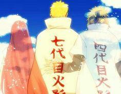 Naruto, Kushina Uzumaki & Minato Namikaze #naruto
