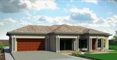 Interesting Inspirational 4 Bedroom House Plans In Gauteng – House Plan Polokwane Best Tuscan Houses And Ground Floor Plans Pics Picture – House Floor Plan Ideas Tuscan House Plans, French Country House Plans, Modern House Plans, 4 Bedroom House Plans, Family House Plans, Double Storey House Plans, Flat Roof House, Facade House, House Plans South Africa