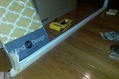 Picture of The Second Set of Cuts Window Cornice Diy, Window Cornices, Window Coverings, Window Treatments, Valances, Box Valance, Pelmet Box, Valance Ideas, Window Screens