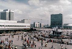 Alexanderplatz, East Berlin (former-DDR).
