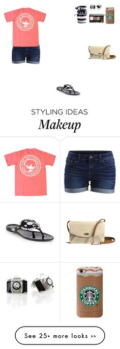"""""""Untitled #1978"""" by hailee02 on Polyvore featuring mode, Jack Rogers, VILA, Bobbi Brown Cosmetics et UGG Australia"""