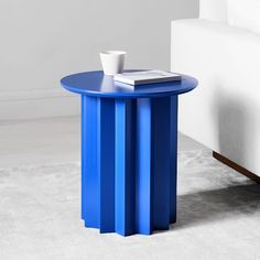 Just like its namesake, our Hera Side Table commands attention with its sophisticated form and bright color. This sculptural table is lightweight and easy to move, making it a versatile piece to rest a drink, book or even a potted plant. Furniture Ads, Design Furniture, Table Furniture, Cheap Furniture, Wooden Furniture, Geometric Furniture, French Furniture, Furniture Online, Furniture Companies