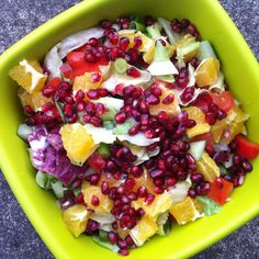 Veganes Food Diary 15 – What I eat in a day - Healthy Lena Xmas Dinner, Food Diary, Fruit Salad, Salsa, Mexican, Lunch, Healthy Recipes, Eat, Cooking