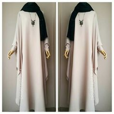 -/- Fashionable Muslim Clothing for All Women \. Islamic Fashion, Muslim Fashion, Modest Fashion, Fashion Dresses, Hijab Style Dress, Hijab Chic, Abaya Fashion, Fashion Wear, Modele Hijab