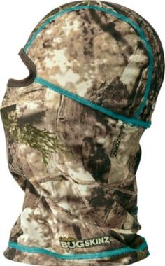 Cabela's OutfitHER™ Bug Skinz® Hood. It repels chiggers, ticks and gnats and rear of hood has ponytail opening.