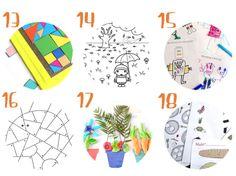 18 imprimibles para jugar y aprender este otoño #niños #juegos #imprimibles #diy #pasatiempos #unamamanovata ▲▲▲ www.unamamanovata.com ▲▲▲
