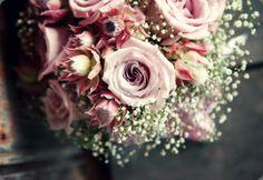 Ramo en tonos rosas con paniculata :: Wedding Flowers by Julia Rose