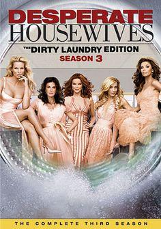 Available in: DVD.The women of Wisteria Lane return in Season 3 of Desperate Housewives. Ally Mcbeal, Little Britain, Kirk Cameron, Laura Palmer, Matt Dillon, Jeff Bridges, Gq, Brenda Strong, Nicollette Sheridan