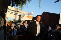 Los Angeles Mayoral Candidate Forum in Hollywood-Emanuel Pleitez rally www.pleitezforla.com