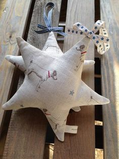 Jack All Star Blue Lavender Filled Stars. Handmade with love for Peony and Sage by CLARABELLE INTERIORS