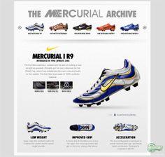 Nike Mercurial I R9. 1998
