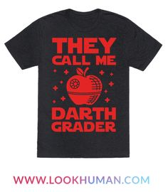 If you use the dark side to help you get through grading papers you may be the sith lord otherwise known as Darth Grader. Show off your nerdy educator status in this funny nerd design. Perfect for nerdy teachers all over the galaxy.