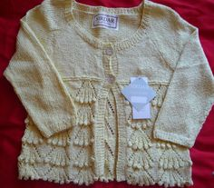Ladies Hand-knitted DK Summer Cardigan