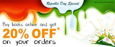 Get 20% discount on the purchase of the publications of National Book Trust, India on 26 January.