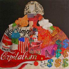 Escuela infantil castillo de Blanca: LAS MENINAS DE VELÁZQUEZ Art Pop, Infanta Margarita, Collage Artists, Collages, Feminist Art, Shape And Form, French Artists, Figure Painting, Favorite Holiday