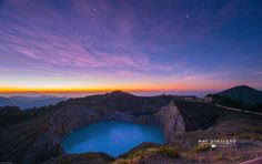 Kelimutu before sunrise by Nathalie Stravers on 500px