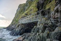 The restored Gobbins cliff path in Islandmagee,Co Antrim,first built at start of last century, boasts spectacular views,exhilarating walkways,1 sky,sea 1 cliff-face feast for the senses.Gobbins experience comprises steep descent,followed by about 100 steps,followed by 2km walk-all before arduous upward climb back.Mass visitor attraction it's not,however - access strictly-controlled.Groups limited to 10 to 15.Tours start on the hour from 10am,so only around 100 people will get to see it each…