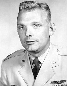 "Aerospace Education: 7/26/1958. Iven Carl ""Kinch"" Kincheloe, Jr. (July 2, 1928 – July 26, 1958) is killed during the crash of a F-104 Starfighter.  Kincheloe joined the Bell X-2 program and on September 7, 1956, flew at more than 2,000 mph (3,200 km/h) and to a height of 126,200 feet (38,500 m), the first flight ever above 100 000 feet. For this he was nicknamed ""America's No. 1 Spaceman"".  #CivilAirPatrol #aviation #history http://en.m.wikipedia.org/wiki/Iven_Carl_Kincheloe,_Jr."