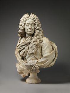 Guillaume Coustou the Elder (French, Lyons 1677–1746 Paris), Samuel Bernard, c 1727, Met Museum