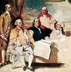 September 3, 1783 -  The British and Americans sign a peace treaty in Paris, France. | Important Events of the Revolution | Kids Discover