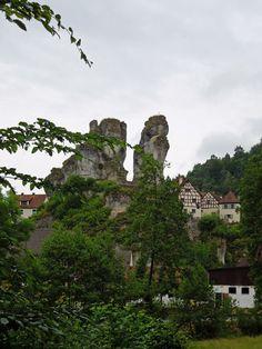 Tüchersfeld mit dem Fränkische Schweiz Museum