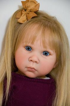 Custom Order Iris by Adrie Stoete Reborn Doll Baby Girl or Boy Toddler